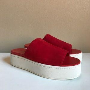 Vince Walford Platform Sandal NWOT